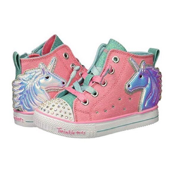 938d5f5301bf NEW Sketchers Unicorn Twinkle Toes Shoes. M 5c4387bf04e33d1aec608805